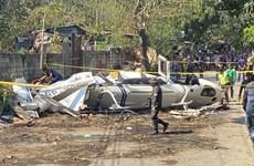 Rơi máy bay trực thăng quân sự ở Philippines, 1 phi công thiệt mạng
