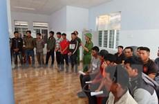 Đắk Lắk: Khởi tố 37 đối tượng phá rừng ở Khu bảo tồn thiên nhiên Ea Sô