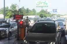 Không xả trạm để tắc kéo dài, trạm thu phí Long Phước bị lập biên bản