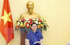 [Photo] Chủ tịch QH Vương Đình Huệ làm việc với Văn phòng Quốc hội