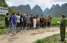 Cao Bằng phát hiện, ngăn chặn 53 người nhập cảnh trái phép