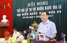 Chủ tịch QH: Phản ánh trung thực, giải quyết kiến nghị của cử tri