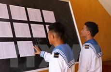Bầu cử Quốc hội: Chiến sỹ trẻ Trường Sa tự hào lần đầu đi bỏ phiếu