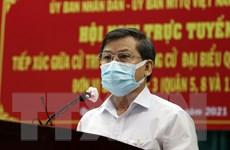 Hội nghị gặp gỡ cử tri trực tuyến tại TP.HCM: Không chỉ là chống dịch
