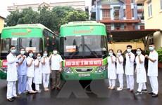 Thái Nguyên cử 51 cán bộ, bác sỹ hỗ trợ Bắc Giang chống dịch COVID-19