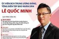 Ủy viên BCH Trung ương Đảng, Tổng Biên tập Báo Nhân Dân Lê Quốc Minh