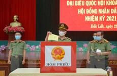 Náo nức không khí bầu cử sớm tại các đơn vị lực lượng vũ trang Đắk Lắk