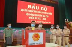 [Photo] Đắk Lắk: Lực lượng vũ trang bầu cử sớm tại 14 khu vực