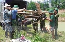 Hưng Yên: Trục vớt, di dời an toàn hai quả bom tại huyện Tiên Lữ