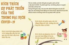 [Infographics] Kích thích sự phát triển của trẻ trong đại dịch