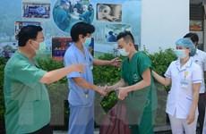 Đoàn y, bác sỹ Bệnh viện C Đà Nẵng lên đường chi viện tỉnh Bắc Giang