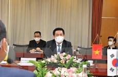 Việt Nam-Hàn Quốc thúc đẩy hợp tác thương mại, công nghiệp