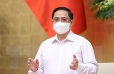 Hình ảnh Thủ tướng Phạm Minh Chính chủ trì Phiên họp Chính phủ tháng 5