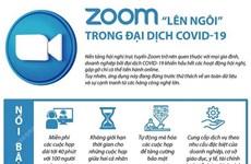 """[Infographics] Ứng dụng Zoom """"lên ngôi"""" trong đại dịch COVID-19"""
