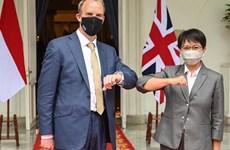 """Đối tác đối thoại của ASEAN:Phép thử đầu tiên với """"Nước Anh Toàn cầu"""""""