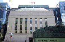 Ngân hàng trung ương Canada giữ nguyên lãi suất ở mức 0,25%