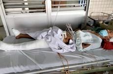 Bình Phước: Truy bắt nhóm cướp tài sản, một công an bị thương nặng
