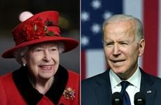Tổng thống Mỹ Biden có cuộc gặp đầu tiên với Nữ hoàng Anh Elizabeth