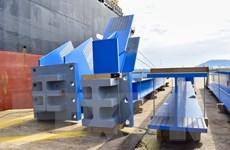 Doosan Vina xuất khẩu 1.560 tấn thiết bị kết cấu sang Indonesia