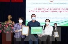 Các tổ chức, DN và người dân TP.HCM tiếp tục ủng hộ phòng, chống dịch