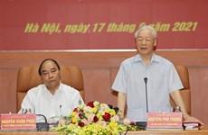 Tổng Bí thư chủ trì Phiên họp lần thứ nhất Quân ủy Trung ương