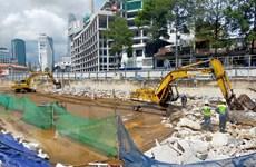 Hoàn trả mặt bằng trên nhà ga ngầm Bến Thành metro số 1 cuối năm 2021
