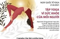 [Infographics] Ngày Quốc tế Yoga: Tập Yoga vì sức khỏe của mỗi người