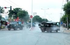 Bình Dương giãn cách xã hội thành phố Thuận An và thị xã Tân Uyên