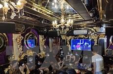 Lào Cai: 20 đối tượng tụ tập hát karaoke bất chấp quy định chống dịch