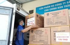 """T&T Group """"tiếp sức"""" 500.000 bộ bơm tiêm vắcxin COVID-19 cho TP.HCM"""