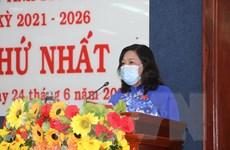 Bà Hồ Thị Cẩm Đào được bầu giữ chức Chủ tịch HĐND tỉnh Sóc Trăng