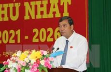 Ông Kim Ngọc Thái tái đắc cử Chủ tịch HĐND tỉnh Trà Vinh
