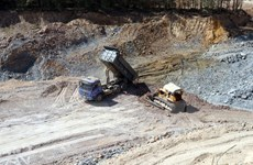 Thừa Thiên-Huế tạm dừng hoạt động hai mỏ đất sau phản ánh của TTXVN