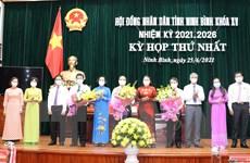 Ninh Bình bầu các chức danh chủ chốt, Đắk Lắk tổng kết công tác bầu cử