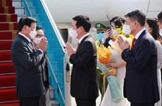Tổng Bí thư, Chủ tịch nước Lào bắt đầu thăm hữu nghị chính thức VN