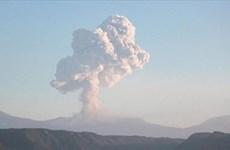 Núi lửa tại Costa Rica phun trào mạnh nhất trong hơn 3 thập kỷ