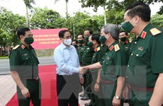 [Photo] Thủ tướng Phạm Minh Chính dự Hội nghị Quân chính toàn quân