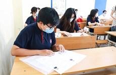 Hòa Bình, Bình Thuận vừa chống dịch vừa đảm bảo kỳ thi an toàn