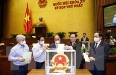 QH bầu lãnh đạo các cơ quan của Quốc hội và Tổng Kiểm toán Nhà nước