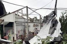 Mưa lớn kèm dông lốc gây nhiều thiệt hại tại Kiên Giang