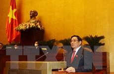 Thông qua Nghị quyết phê chuẩn Phó Chủ tịch, UV Hội đồng Quốc phòng