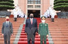 Bộ trưởng Quốc phòng Hoa Kỳ Lloyd Austin thăm chính thức Việt Nam