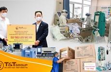 T&T Group tài trợ 20 tỷ đồng mua thiết bị y tế cho các tỉnh vùng dịch