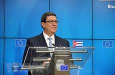 Ngoại trưởng Cuba phản đối các biện pháp trừng phạt mới của Mỹ