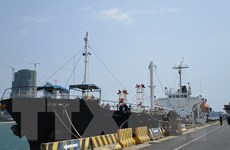 Mỹ tịch thu tàu được sử dụng để chở dầu mỏ cho Triều Tiên