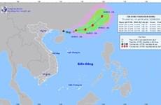 Áp thấp nhiệt đới di chuyển hướng Đông Đông Bắc, có thể mạnh thành bão