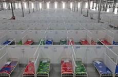 Hình ảnh 2 khu điều trị mới với quy mô 8.300 giường tại Bình Dương
