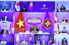 Bộ trưởng Bùi Thanh Sơn dự hội nghị ngoại trưởng ASEAN-Hàn Quốc
