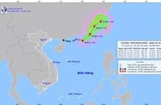 Áp thấp nhiệt đới trên biển Đông đã mạnh lên thành bão số 4