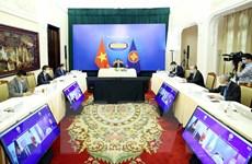 Bộ trưởng Bùi Thanh Sơn dự Hội nghị Bộ trưởng Ngoại giao ASEAN-Canada